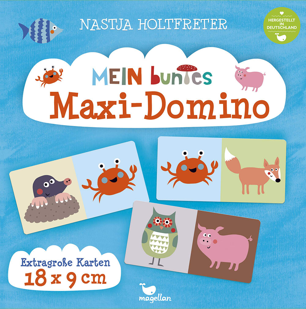 Mein buntes Maxi-Domino