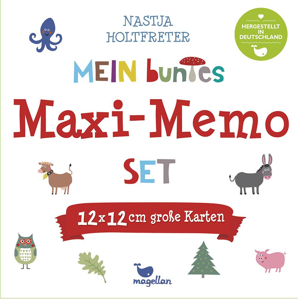 Mein buntes Maxi-Memo-Set