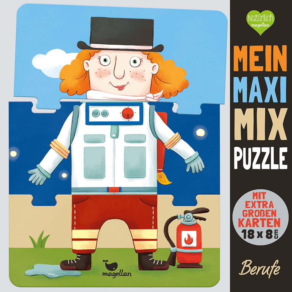 Mein Maxi-Mix-Puzzle - Berufe