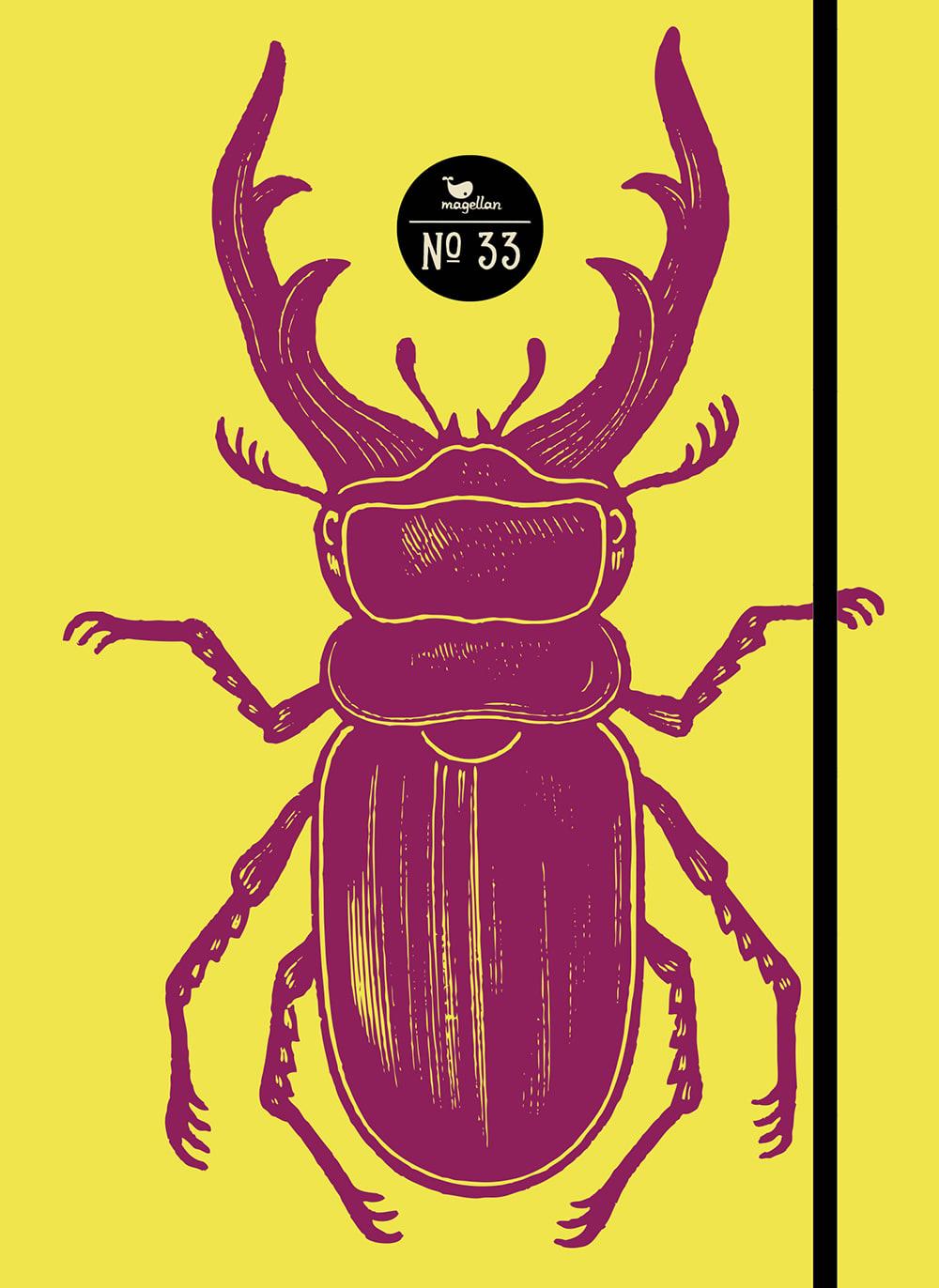 Notizbuch No. 33 - Käfer