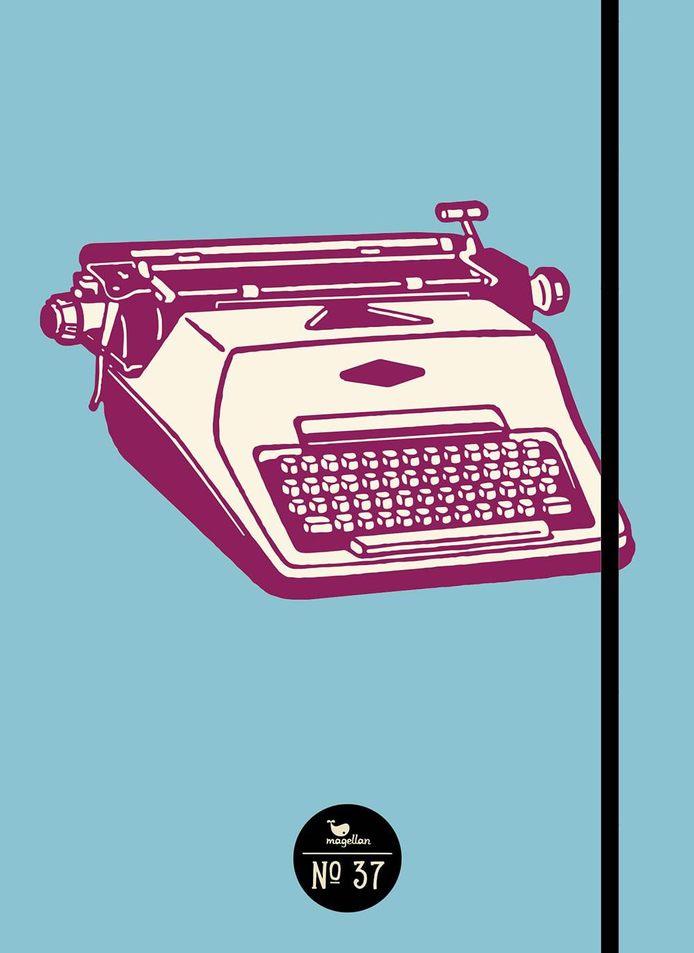 Notizbuch No. 37 - Schreibmaschine