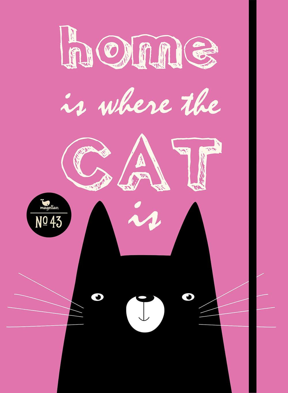 Notizbuch No. 43 - Cat Home