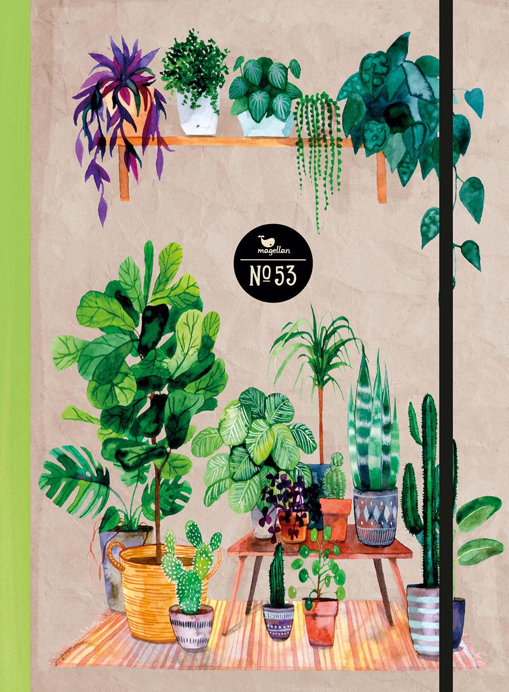 Notizbuch No. 53 - Green Home