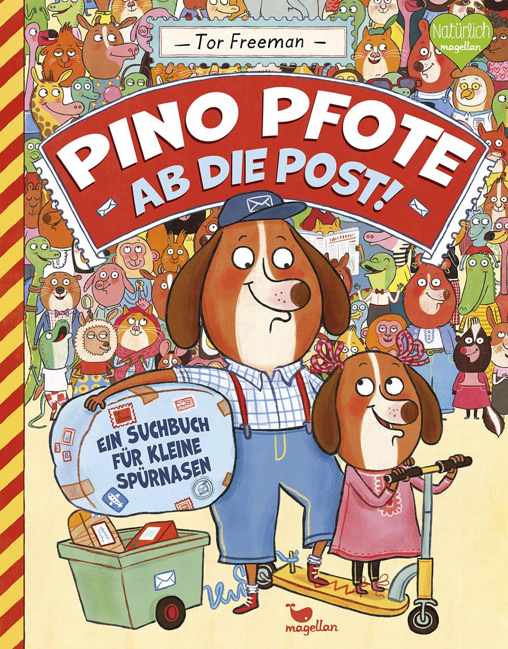 Pino Pfote - Ab die Post!