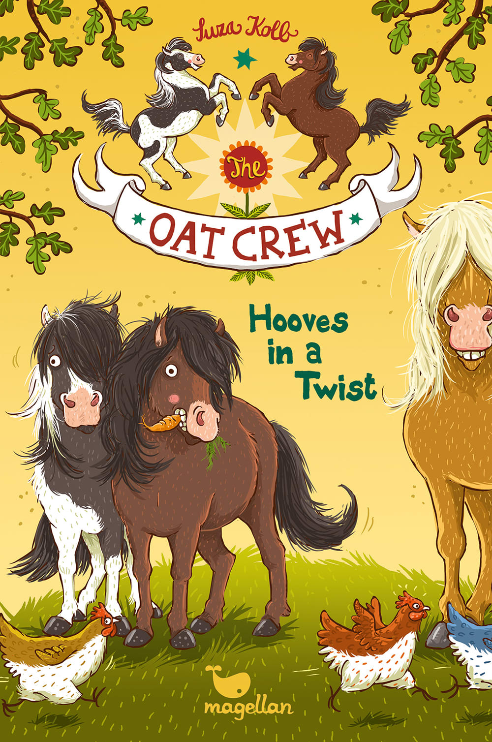 The Oat Crew - Hooves in a Twist