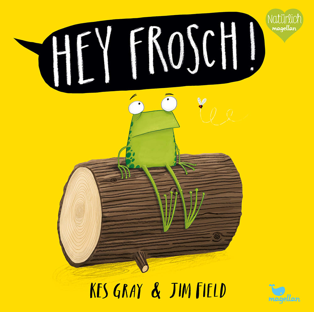 """5er-Paket """"Hey Frosch!"""""""