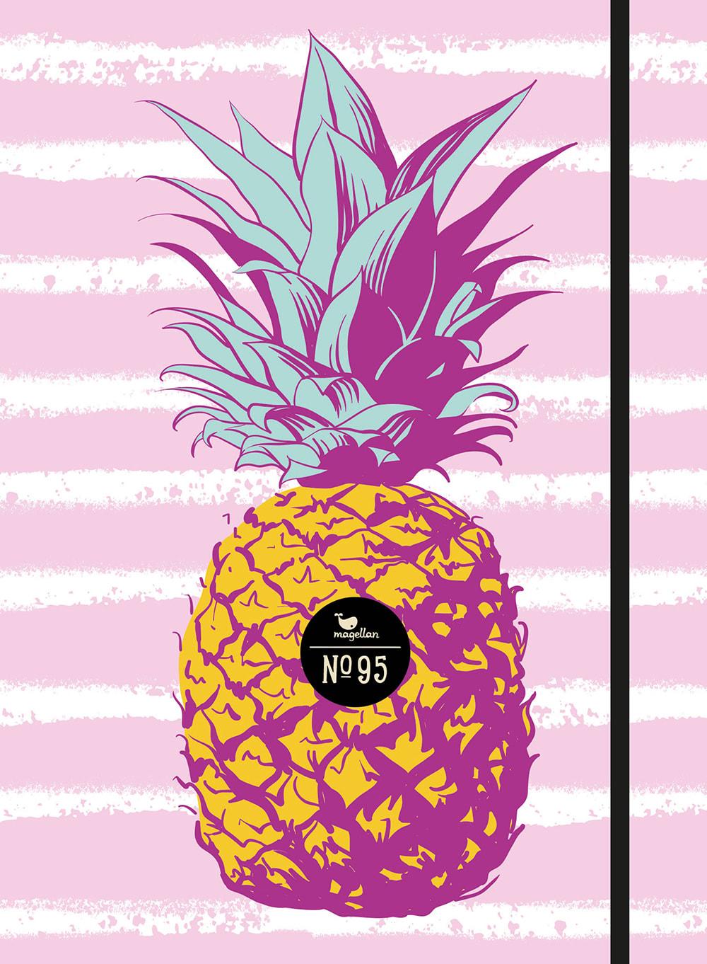 Notizbuch No. 95 - Ananas