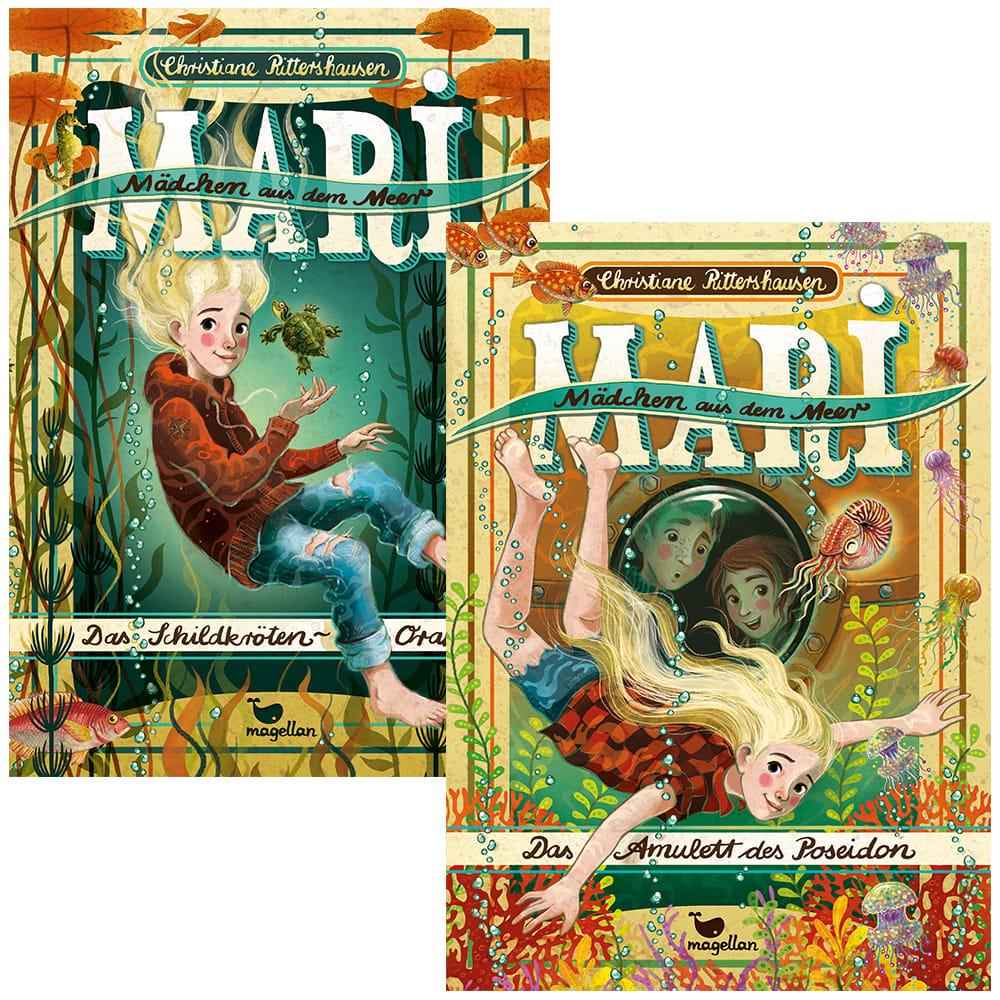 "Kombi-Paket ""Mari - Mädchen aus dem Meer, Bd. 1 + 2"" (Bücher)"