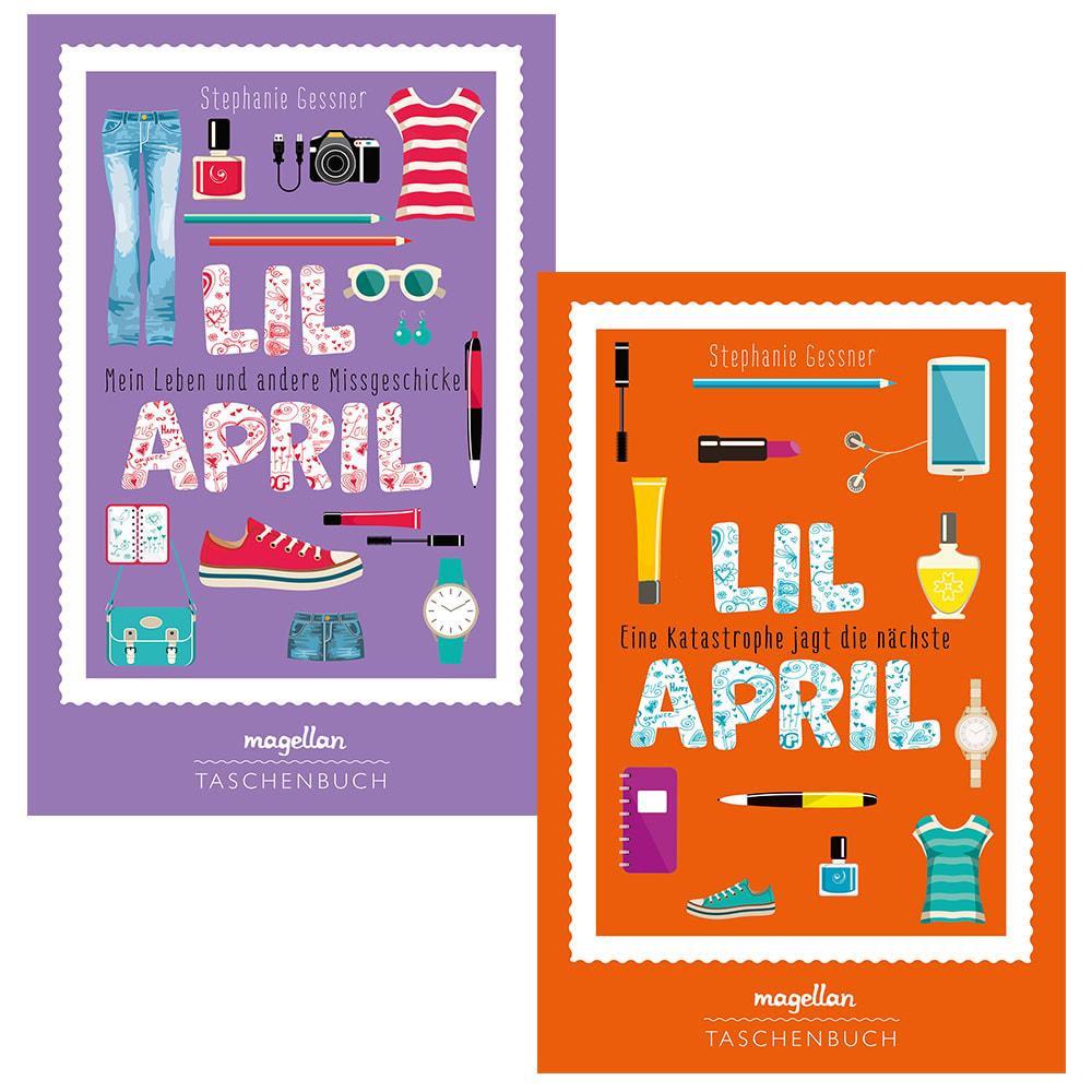 """Kombi-Paket """"Lil April, Bd. 1 + 2"""" (TB)"""