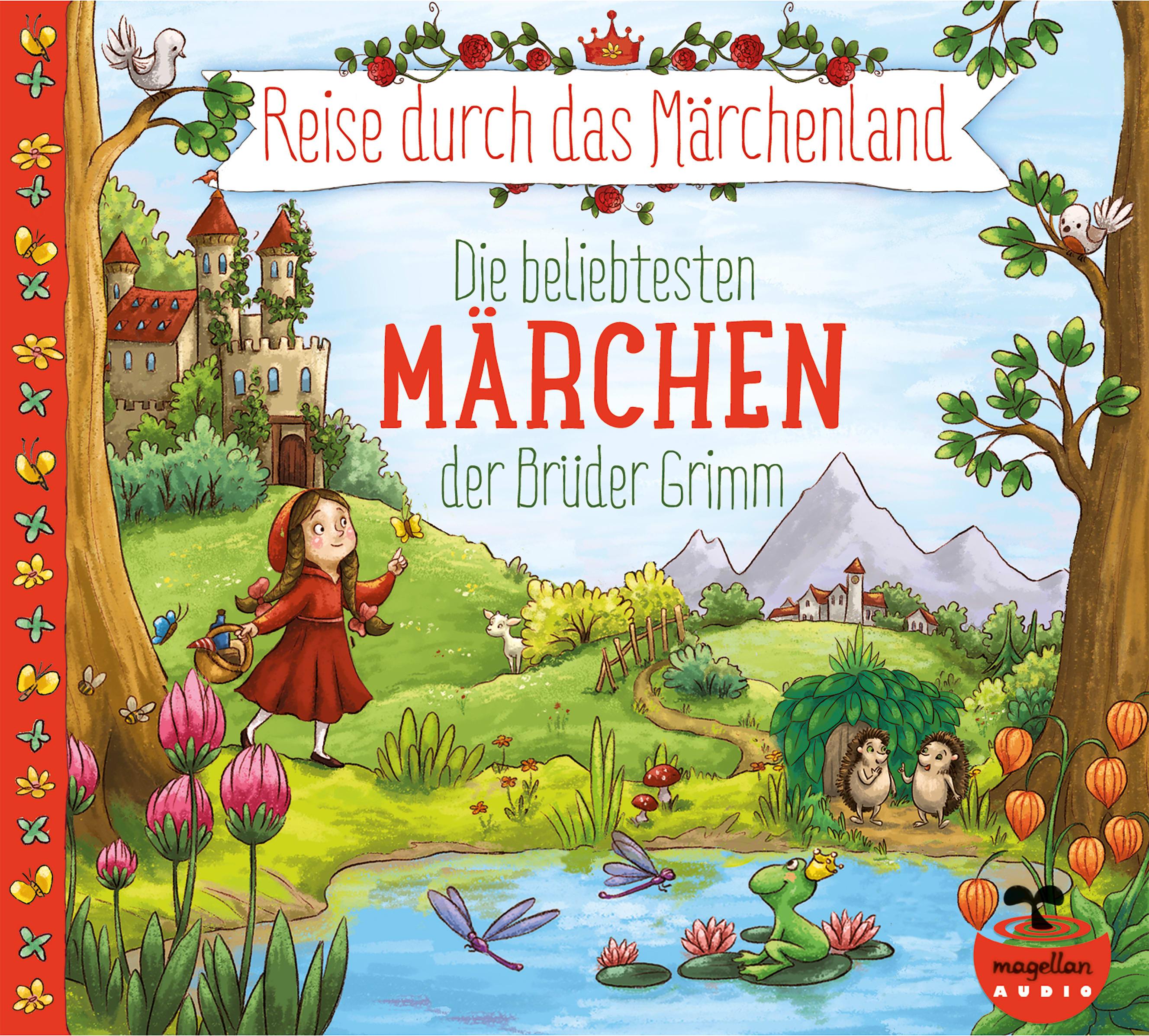 """3er-Paket """"Grimm, Reise durch das Märchenland"""" (Hörbuch)"""