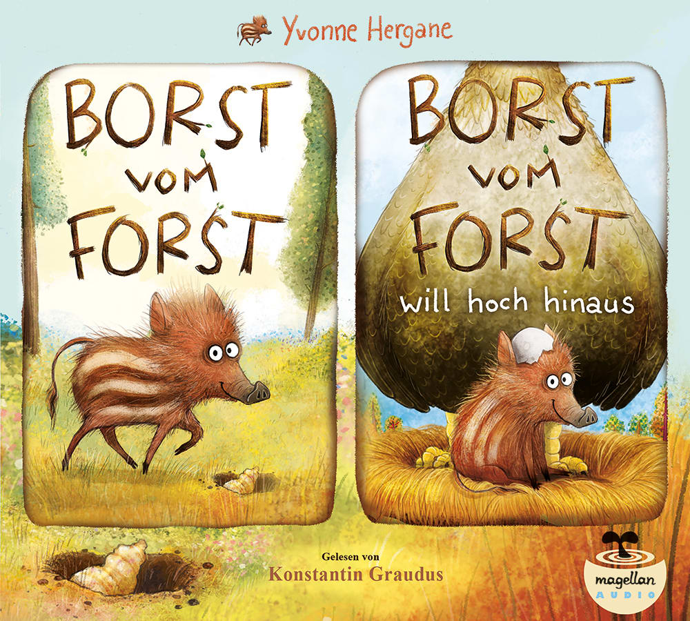 "3er-Paket ""Borst vom Forst"" (Hörbuch)"