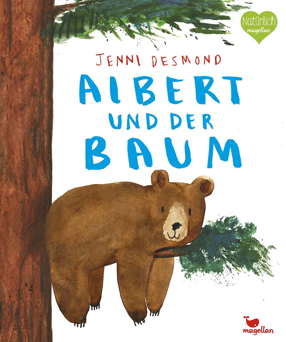 Cover Albert und der Baum Bilderbuch von Jenni Desmond