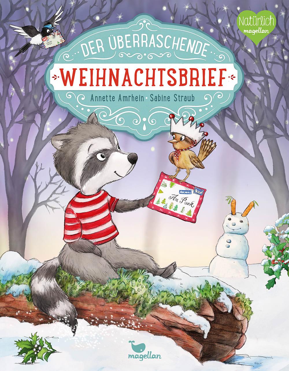 Cover Der überraschende Weihnachtsbrief Bilderbuch von Annette Amrhein und Sabine Straub