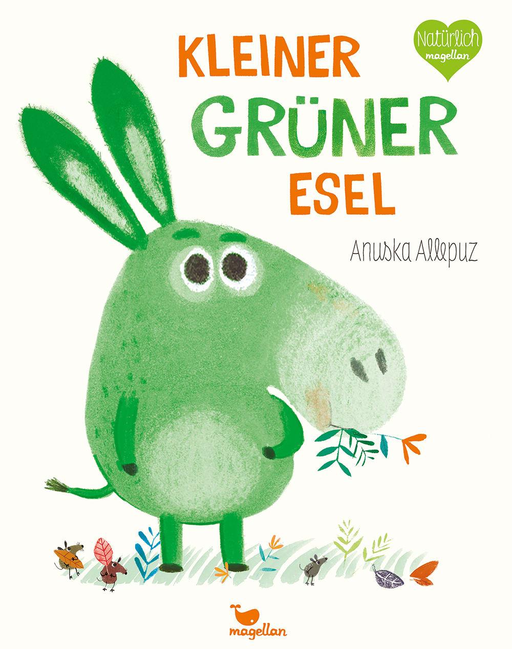 Cover Kleiner grüner Esel Bilderbuch von Anuska Allepuz