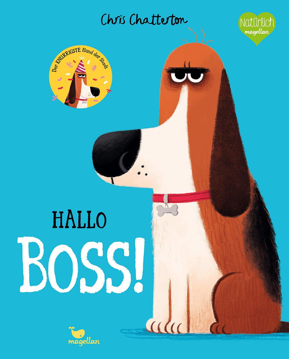 Cover Hallo Boss Bilderbuch von Chris Chatterton