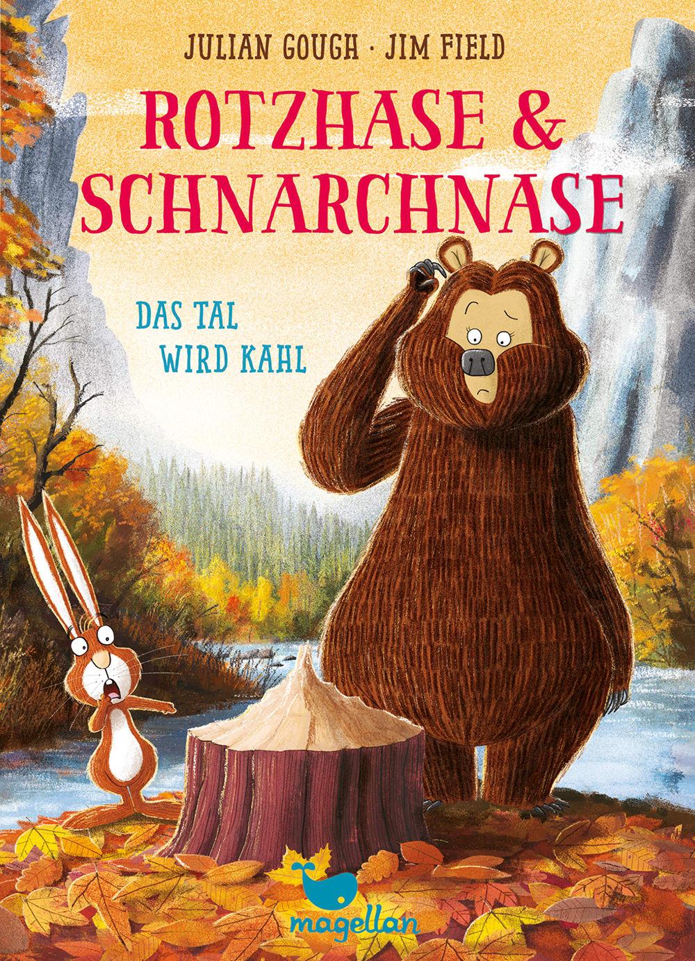 Cover Rotzhase und Schnarchnase Band4 Tal wird kahl Erstes Lesen von Julian Gough und Jim Field