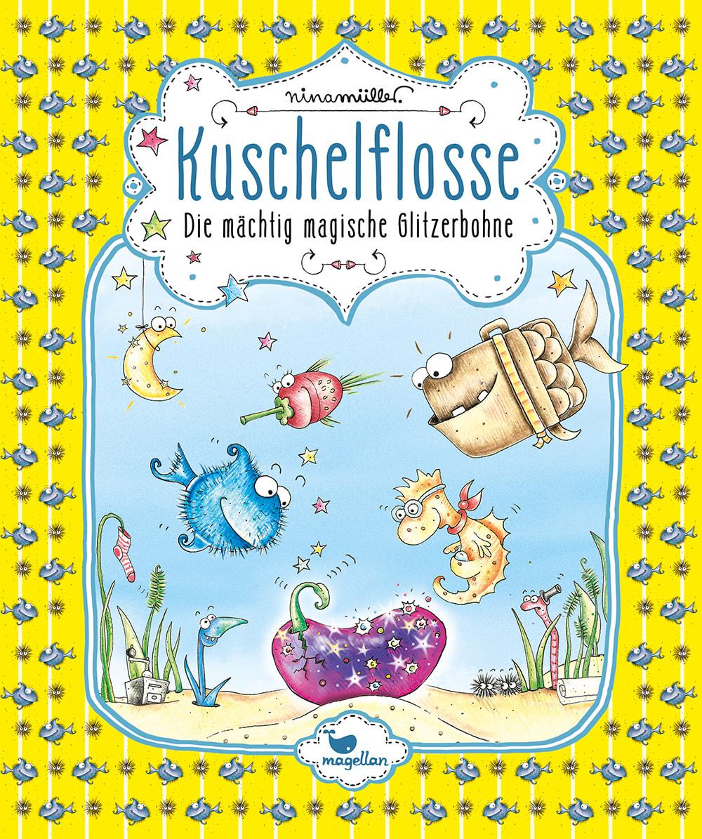 Cover Kuschelflosse Band4 Glitzerbohne Vorlesebuch von Nina Mueller