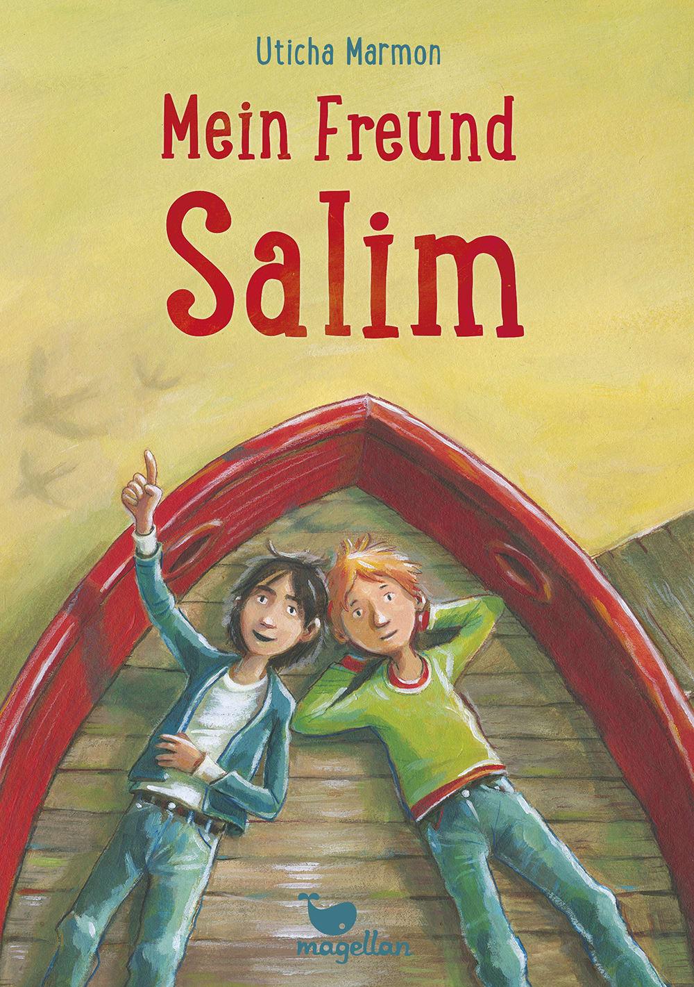 Cover Mein Freund Salim Kinderbuch von Uticha Marmon