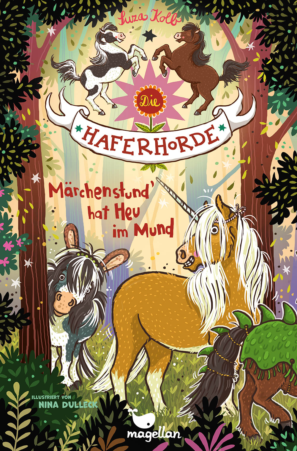 Cover Haferhorde Band17 Märchenstund' hat Heu im Mund von Suza Kolb