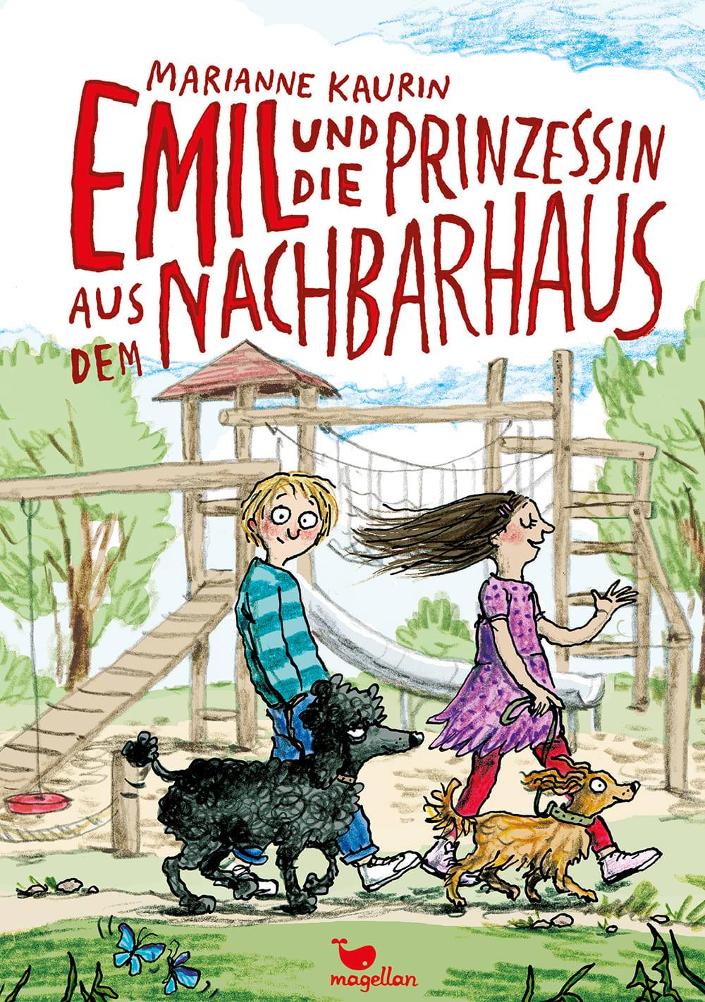 Cover Emil und die Prinzessin aus dem Nachbarhaus Kinderbuch von Marianne Kaurin