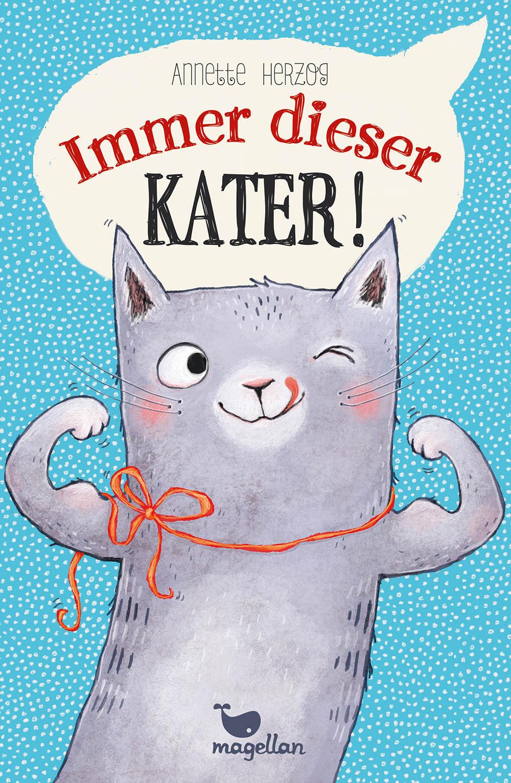 Cover Immer dieser Kater Kinderbuch von Annette Herzog