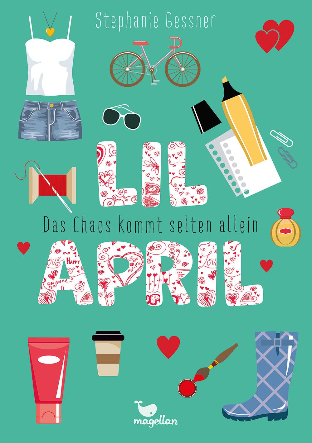 Cover Lil April Band3 Das Chaos kommt selten allein Middle Grade von Stephanie Gessner