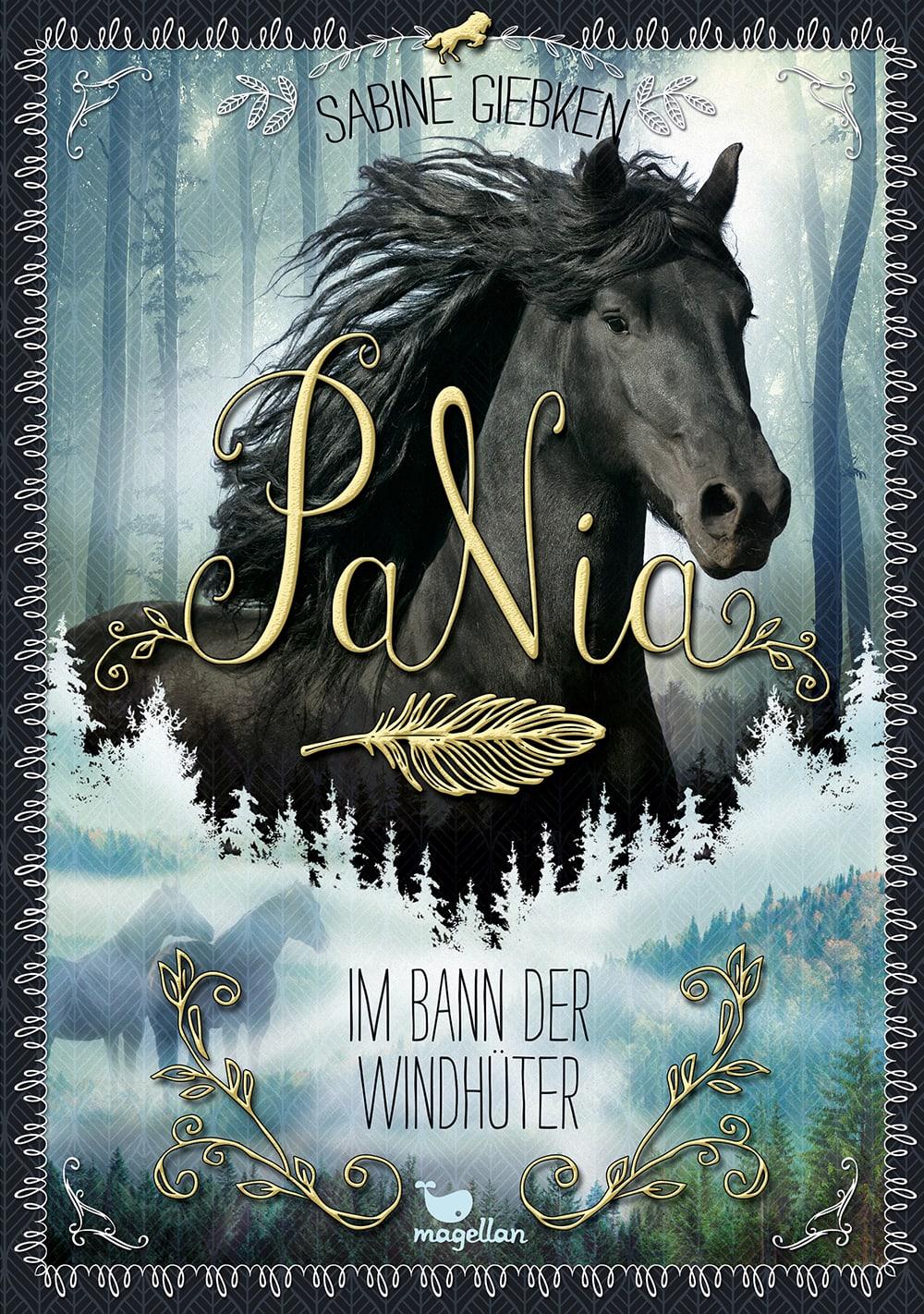 Cover PaNia Band2 Im Bann der Windhüter Pferdebuch von Sabine Giebken
