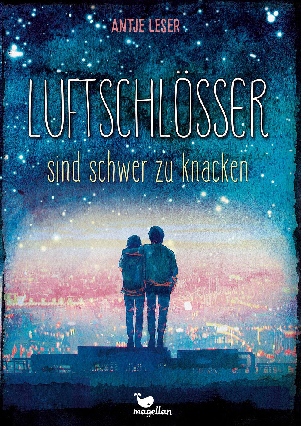 Cover Luftschlösser sind schwer zu knacken Thriller Jugendbuch von Antje Leser