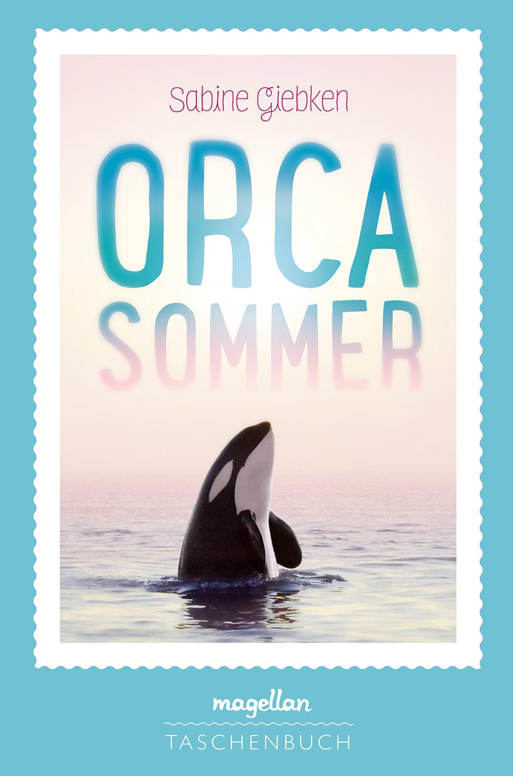 Cover Orcasommer Jugendbuch von Sabine Giebken