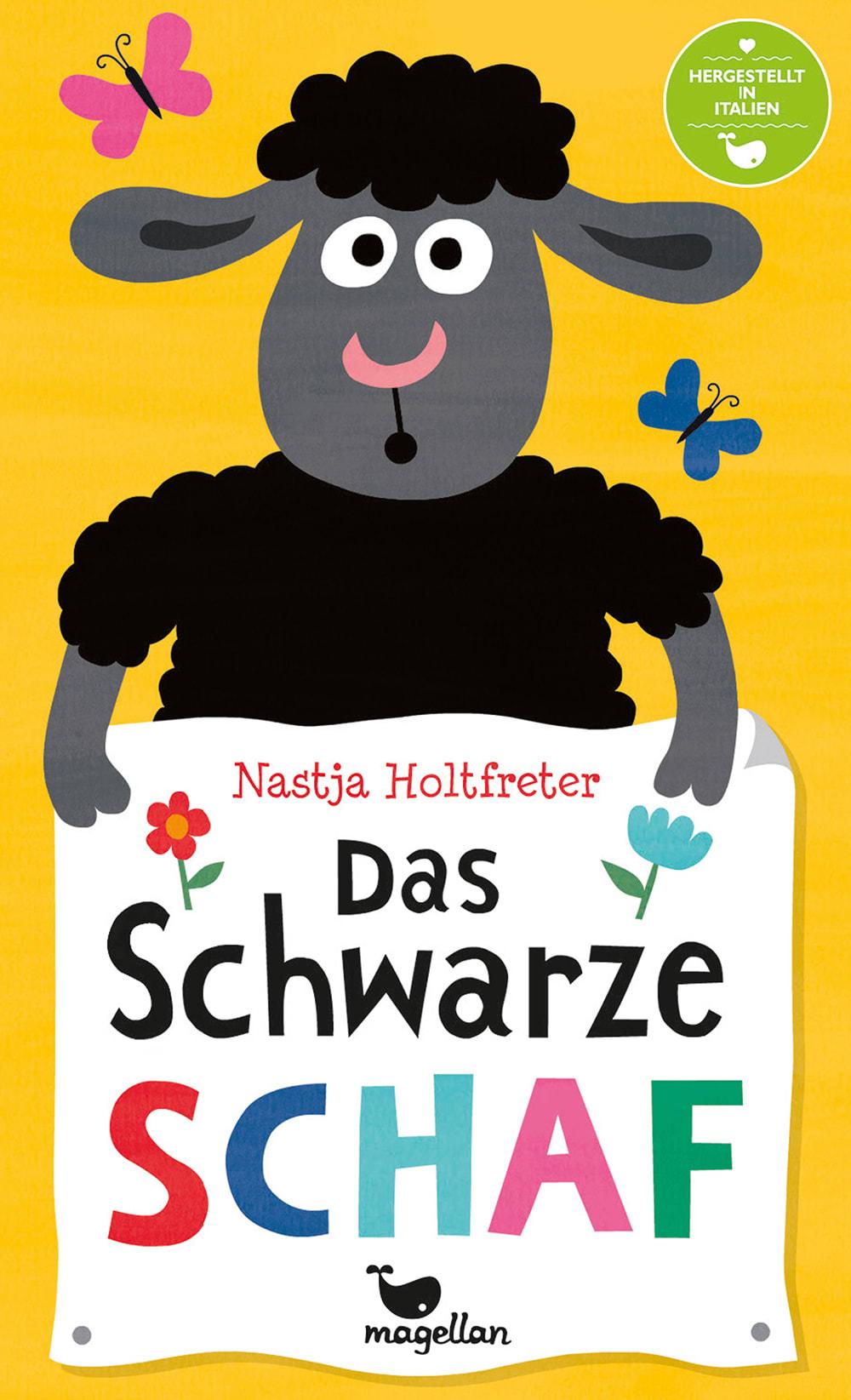 Cover Das Schwarze Schaf Kartenspiel von Nastja Holtfreter