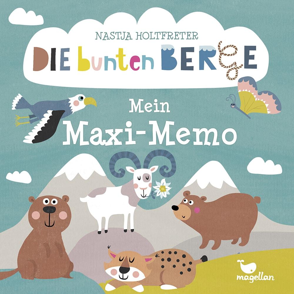 Cover Die bunten Berge Mein Maxi-Memo Memo-Spiel von Nastja Holtfreter