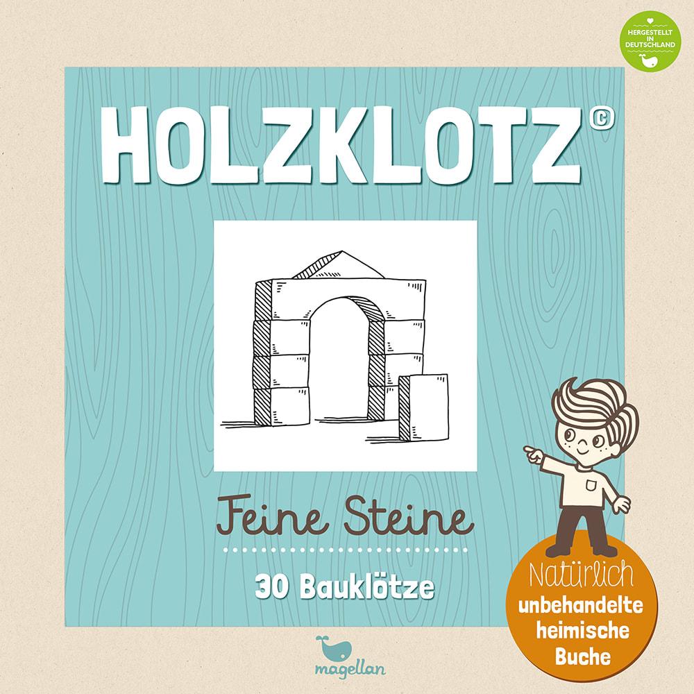 Cover Holzklotz Feine Steine 30 Bauklötze Holzspielsachen Spielzeug