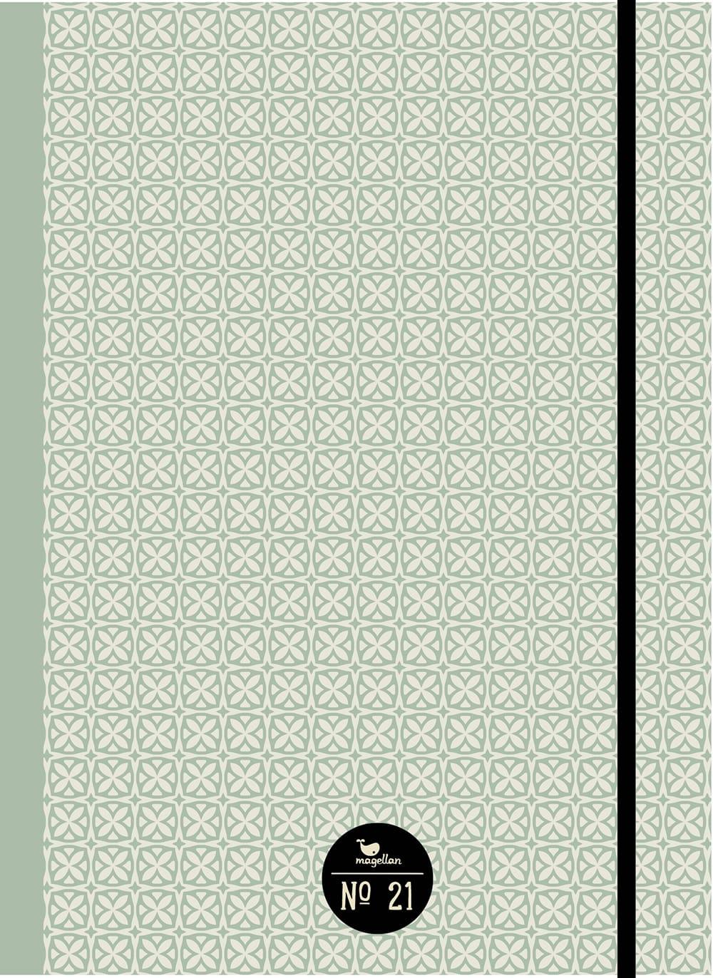 Cover Notizbuch Nummer 21 Green Cross Schönes und Kreatives zum Eintragen