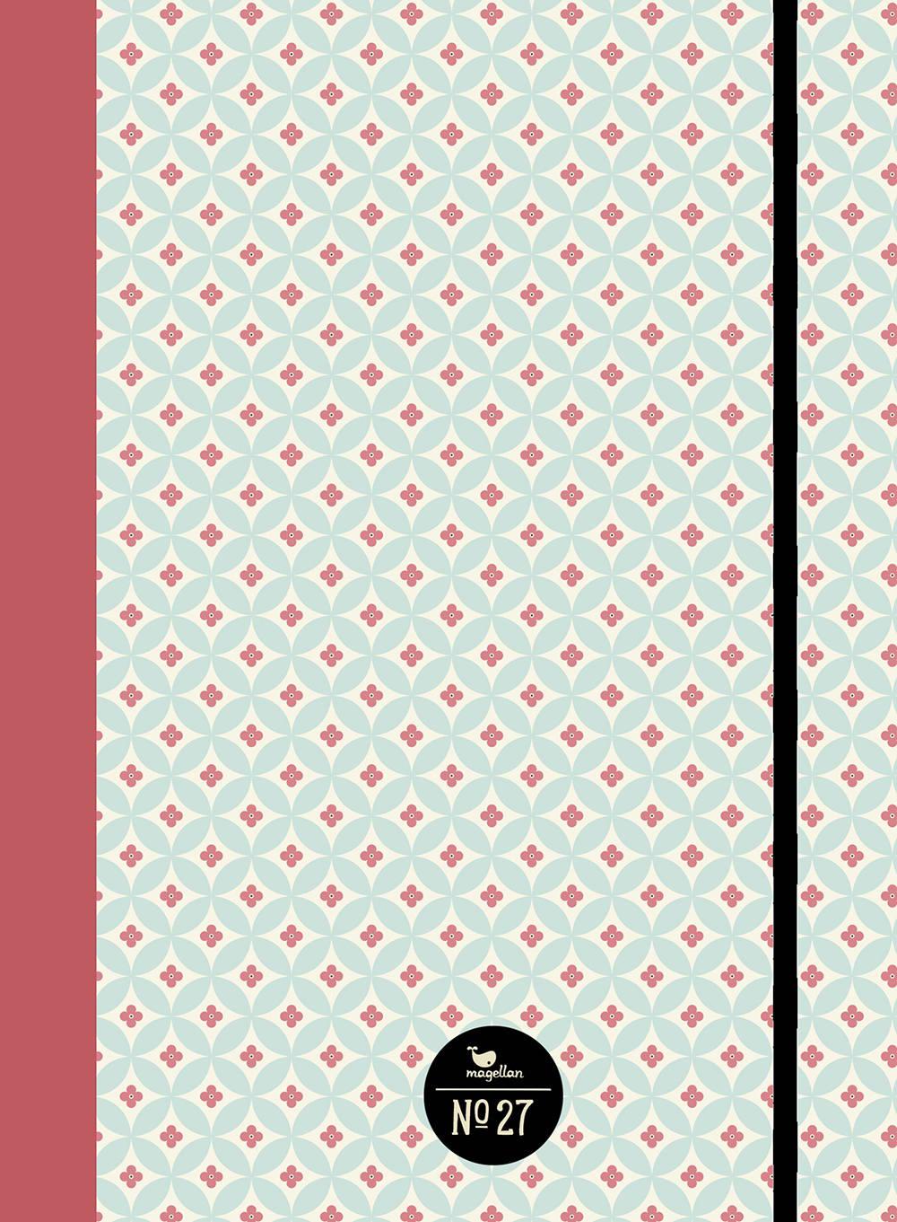 Cover Notizbuch Nummer 27 Prisma türkis Schönes und Kreatives zum Eintragen