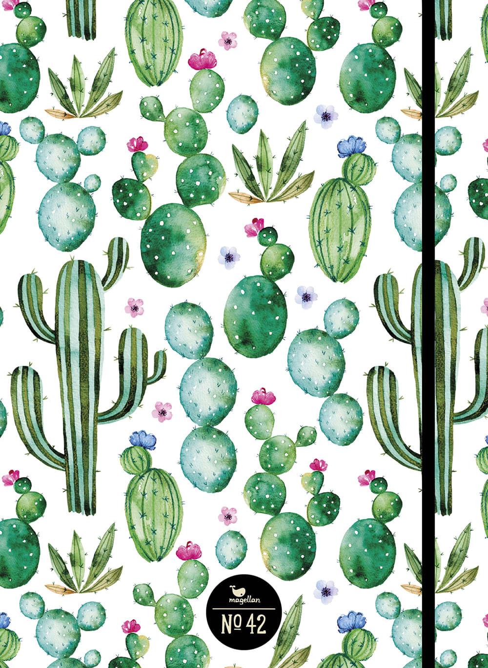 Cover Notizbuch Nummer 42 Kaktus Schönes und Kreatives zum Eintragen