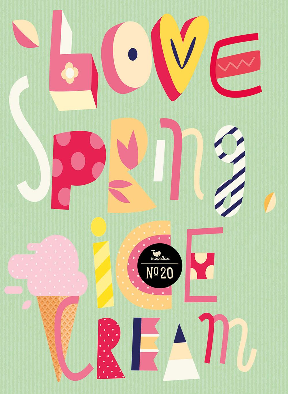Cover Notizbuch Nummer 20 Spring Schönes und Kreatives zum Eintragen