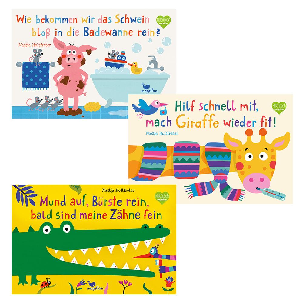 """""""Schwein + Giraffe"""" + """"Mund auf"""""""