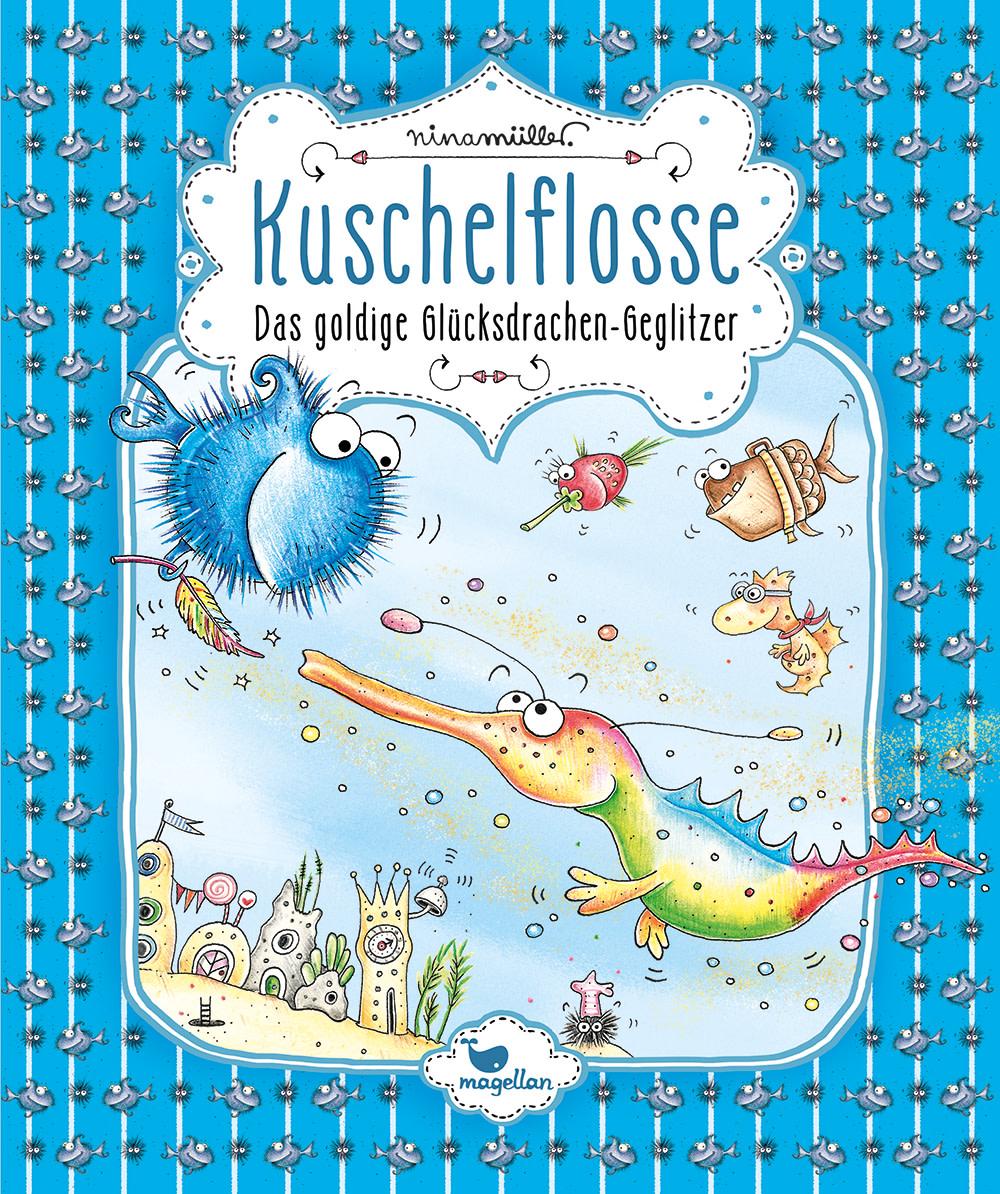 Kuschelflosse - Das goldige Glücksdrachen-Geglitzer