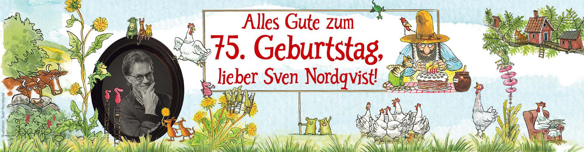 75. Geburtstag von Sven Nordqvist