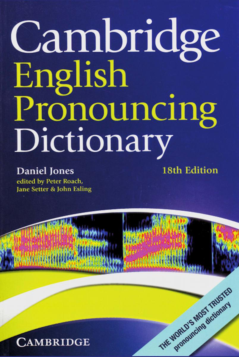 Cambridge English Pronouncing Dictionary Paperback   Klett Sprachen