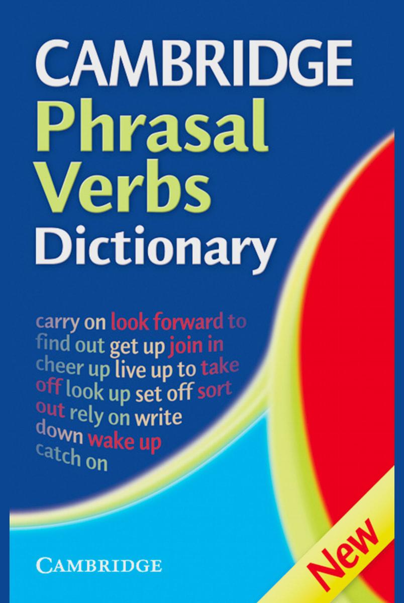 Cambridge Phrasal Verbs Dictionary Second Edition Paperback ...