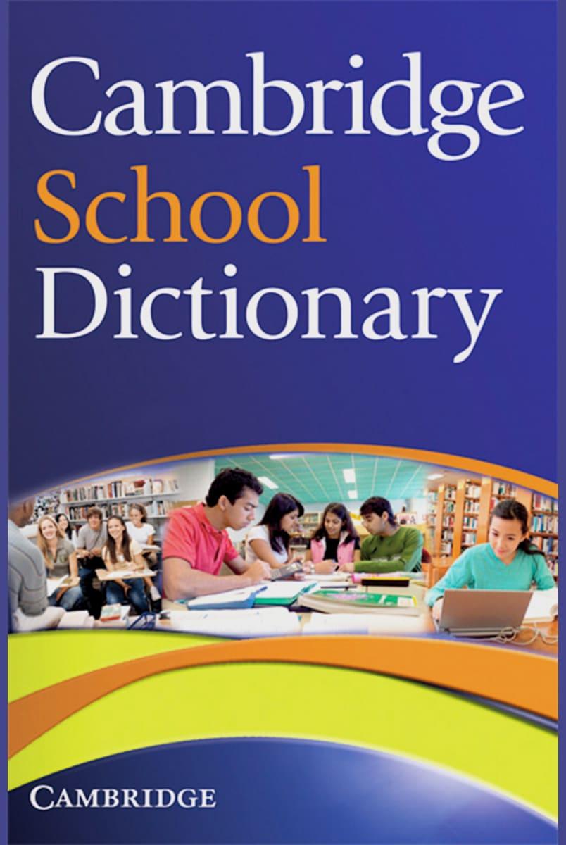 Cambridge School Dictionary Paperback   Klett Sprachen