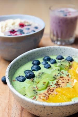Grüne Smoothie Power: Mango-Spinat-Boster