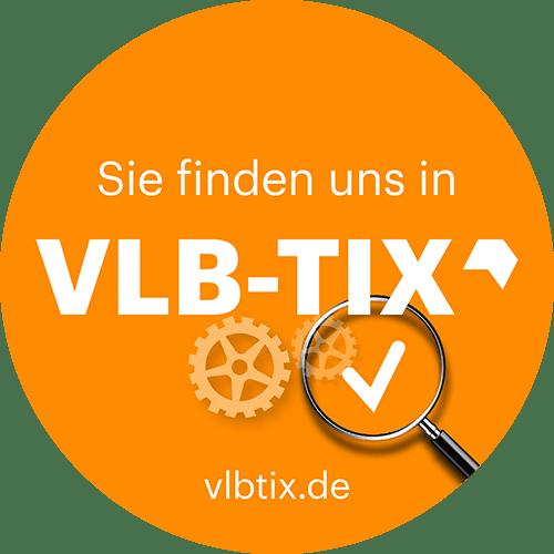 Sie finden uns in VLB-TIX
