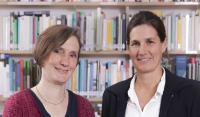 Anke Oxenfarth und Kajsa Schwerthöffer von der Stabstelle Nachhaltigkeit