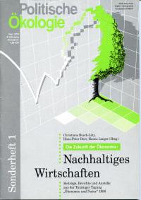 Cover der Sonderausgabe politische ökologie