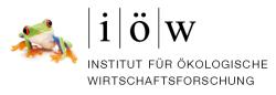 Logo Institut für Ökologische Wirtschaftsforschung
