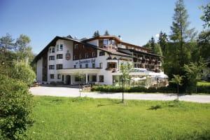 Das BIO Hotel Leutscherhof von außen