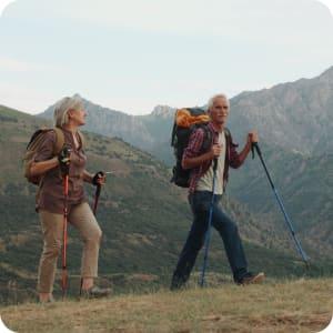 Bild: Wandern in den Bergen ist ein Ausdauersport für fast alle