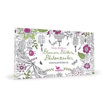 Blumen, Blätter, Blütenzauber - Postkartenbuch